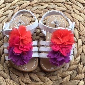 Other - Girls Flower Sandals